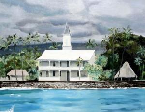 Hulihe'e Palace, Kailua Hawaii