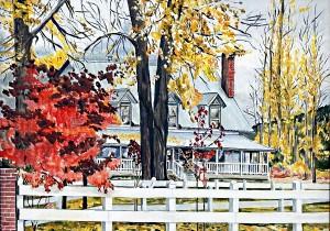Bidwell House Fall