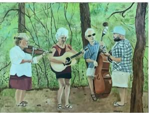 """Blue Grouse"" Bluegrass Band, Durango, Colorado"