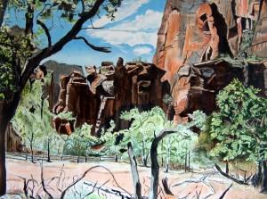 Cliffs at Zion