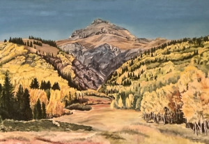 Fall - Red Mountain Pass. Silverton to Ouray, Colorado