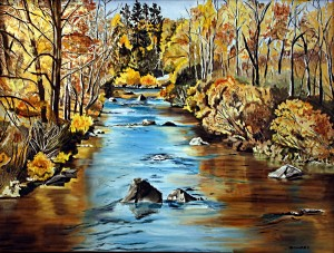 Fall at Feather River
