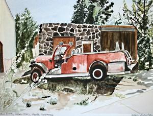 Fire Truck circa 1930