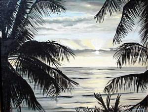 Kona Sunset, Hawaii