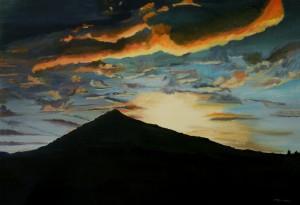 Mt. Tamalpias Sunburst