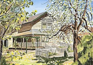 Northwoods Art Gallery in the Spring