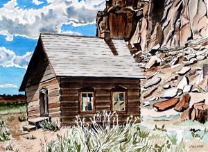 Old Mormon School House