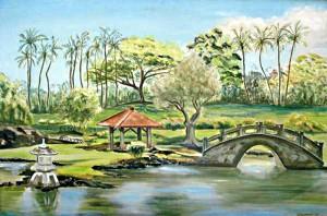 Queen Liliokulani's Garden, Hilo, H.I.