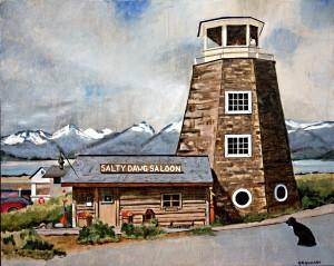 Salty Dawg Saloon, Homer Alaska
