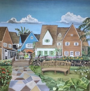 Whaler's Market Place Lahaina, Maui, HawaiiWith great artistic license